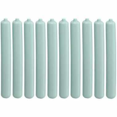 10x koelelementen staaf mintgroen 20 cm