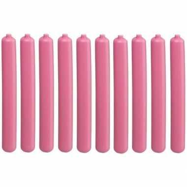 10x koelelementen staaf roze 20 cm