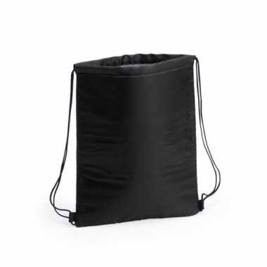 Zwarte koeltas rugzak 32 x 42 cm